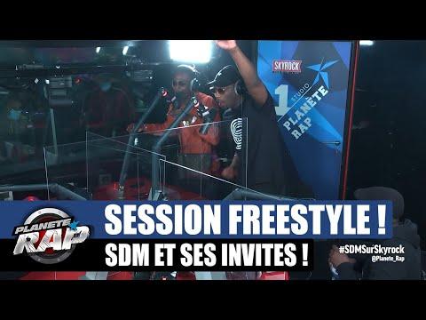 Youtube: SDM – Session freestyle avec Koba LaD, Timal, Green Montana, Testri, Diablo, Ziki… #PlanèteRap