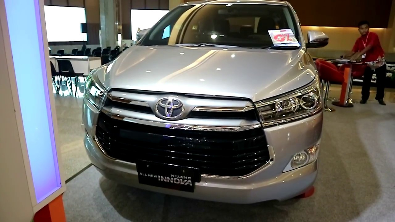 all new kijang innova diesel modifikasi grand avanza hitam toyota 2 0 v 2018 exterior and interior youtube