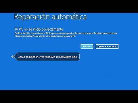 [SOLUCIÓN] Preparando Reparación Automática Windows 10 - diagnosticando su PC (2019)