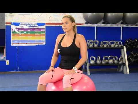 Can Bouncing on an Exercise Ball Strengthen Thigh Muscles? : Fit Body Boot Camp for Women