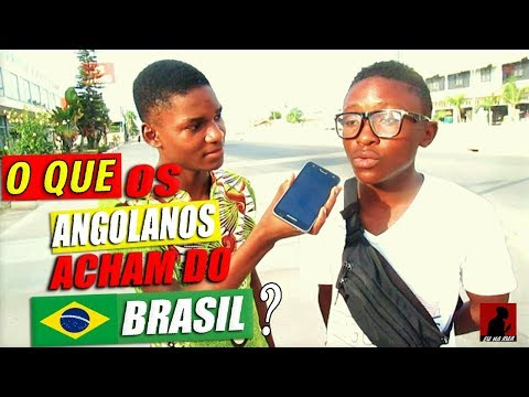 O QUE O POVO AFRICANO ACHA DO BRASIL(país violento)