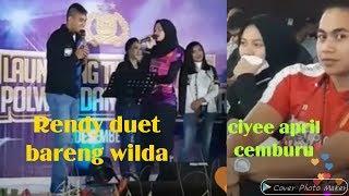 Gambar cover Terbaru live Rendy duet bareng Wilda Manganang cemburu 😂😂