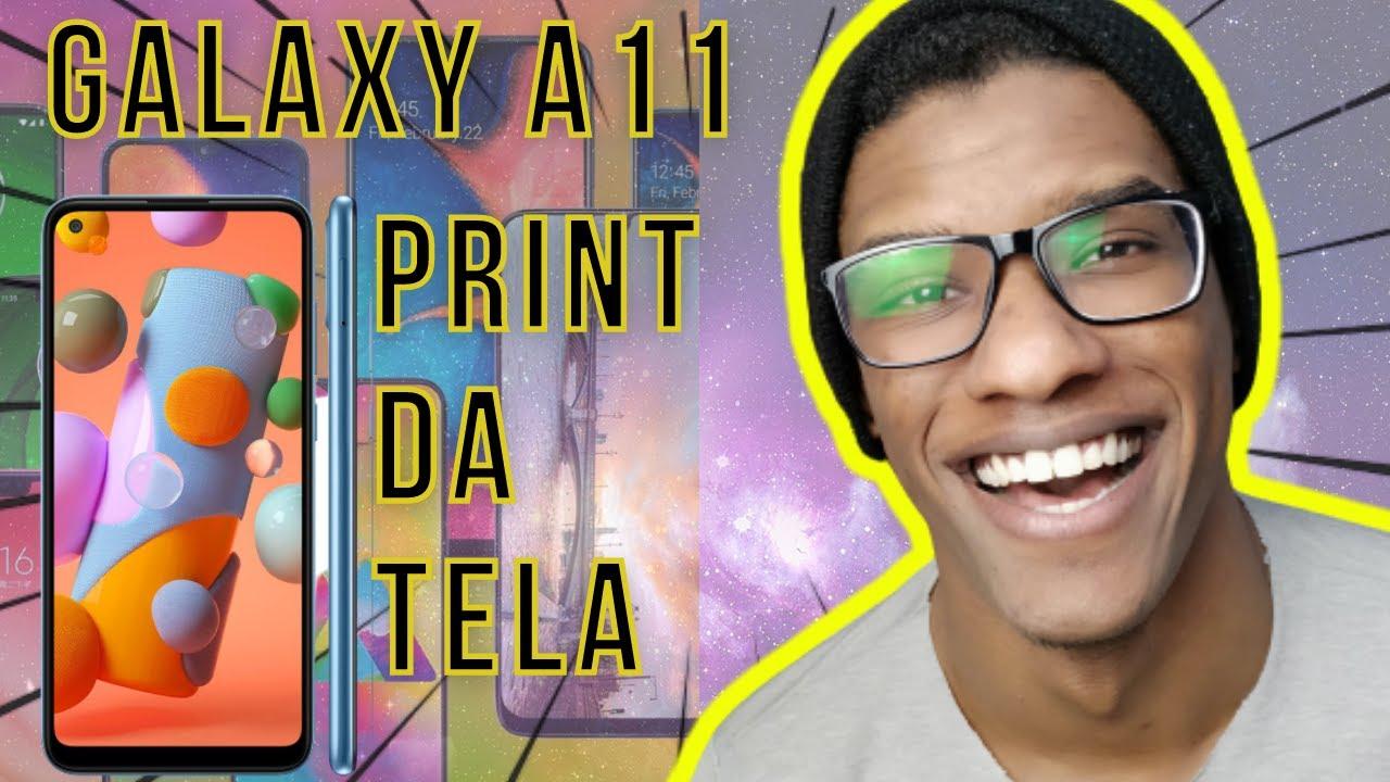 Download Galaxy A11 | Como Tirar Print - Foto da Tela (Revelado! É Muito Fácil)
