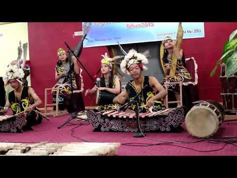"Cover Lagu ""Leleng"" FLS2N Tingkat Propinsi 2015 Musik Tradisional, SMP Yayasan Pupuk Kaltim STAFABAND"