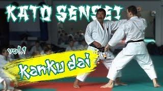 Kanku-dai (vol.1).  Sadashige Kato, 9th Dan, Shotokan