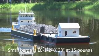 RC Scale Model Towboat (part 4)