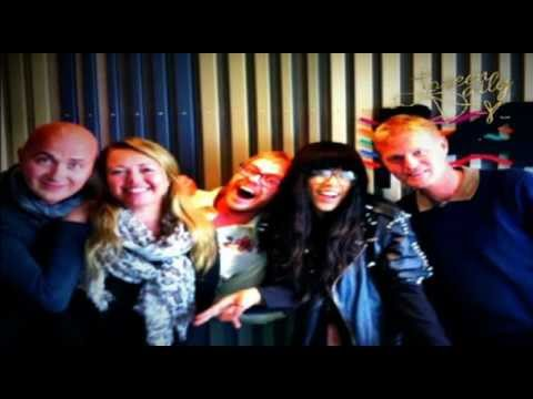 Loreen interview for P4 Norge (Norway Radio) - May 9, 2012