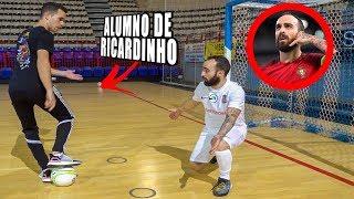 RICARDINHO ME ENSEÑA SUS MEJORES REGATES - Futsal & Futbol calle