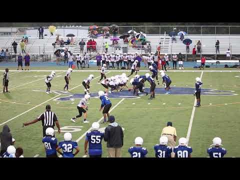 Three Lakes  A VS Boulter 8th grade Tyler ISD 2017 Football final