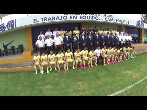 Detrás de cámaras foto oficial Club América 2015