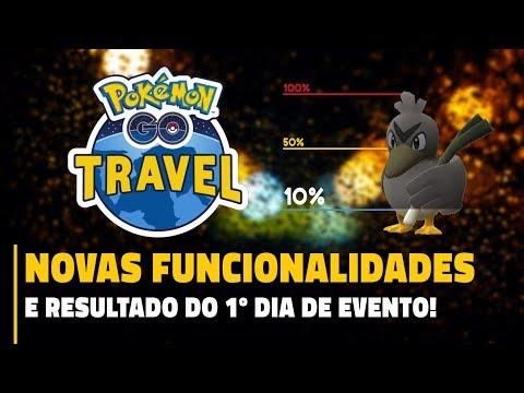 Download Youtube: SÓ 10%?! RESULTADO DO PRIMEIRO DIA DE EVENTO | Pokémon GO Travel