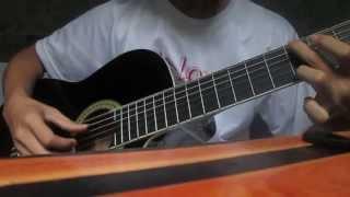 Đêm nằm mơ phố - guitar solo