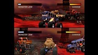 Monster Jam: Maximum Destruction - Dog Pound VS. Bull Dog - Mini-Games