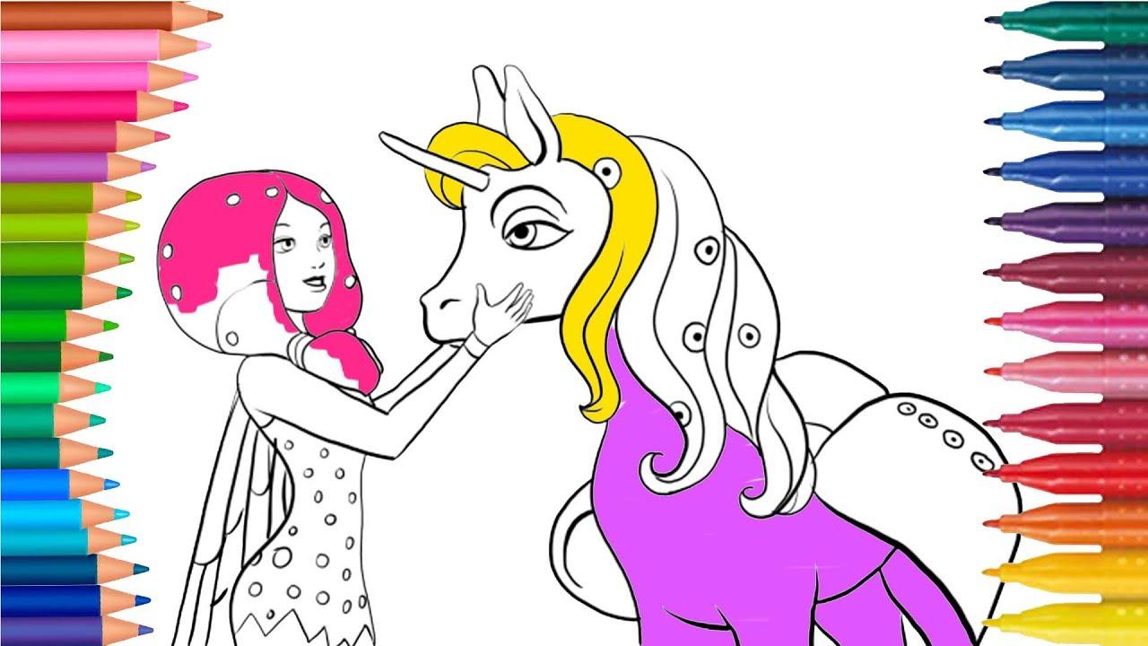 Una Niña y My Little Pony   Mi Pequeño Pony   Juego de Pintar ...