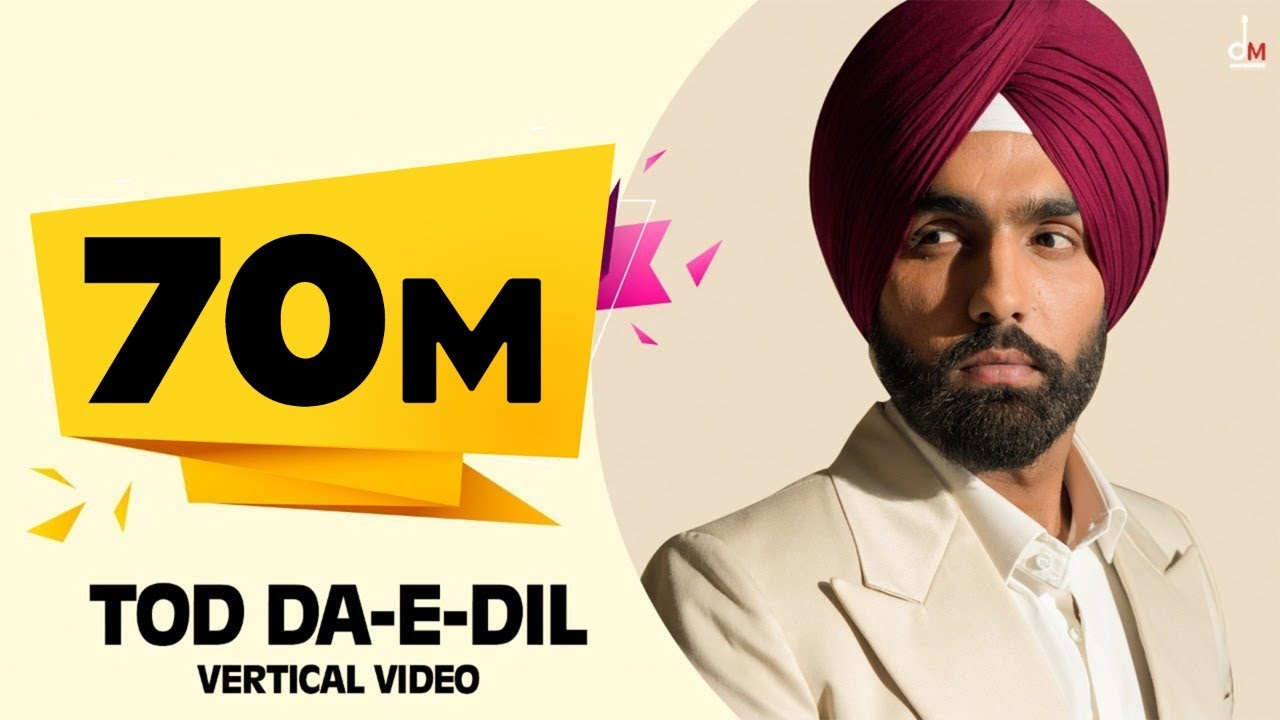Tod Da e Dil (Vertical Video) Ammy Virk | Mandy Takhar | Maninder Buttar | Avvy Sra | Arvindr  | DM