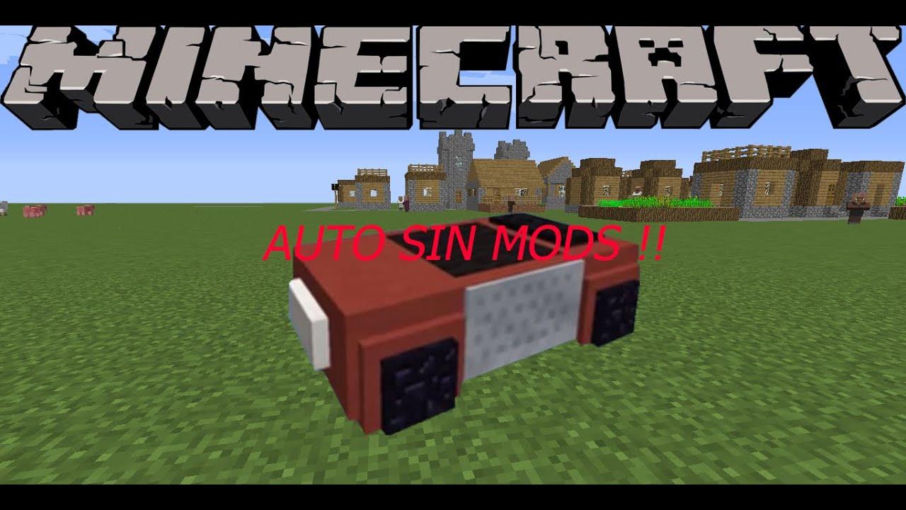 Minecraft auto sin mods youtube - Decoraciones para minecraft sin mods ...