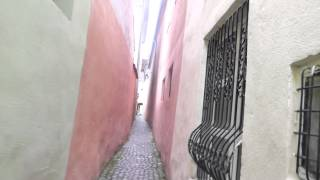 How narrow can you go Visiting Brasov &#39s ROPE street