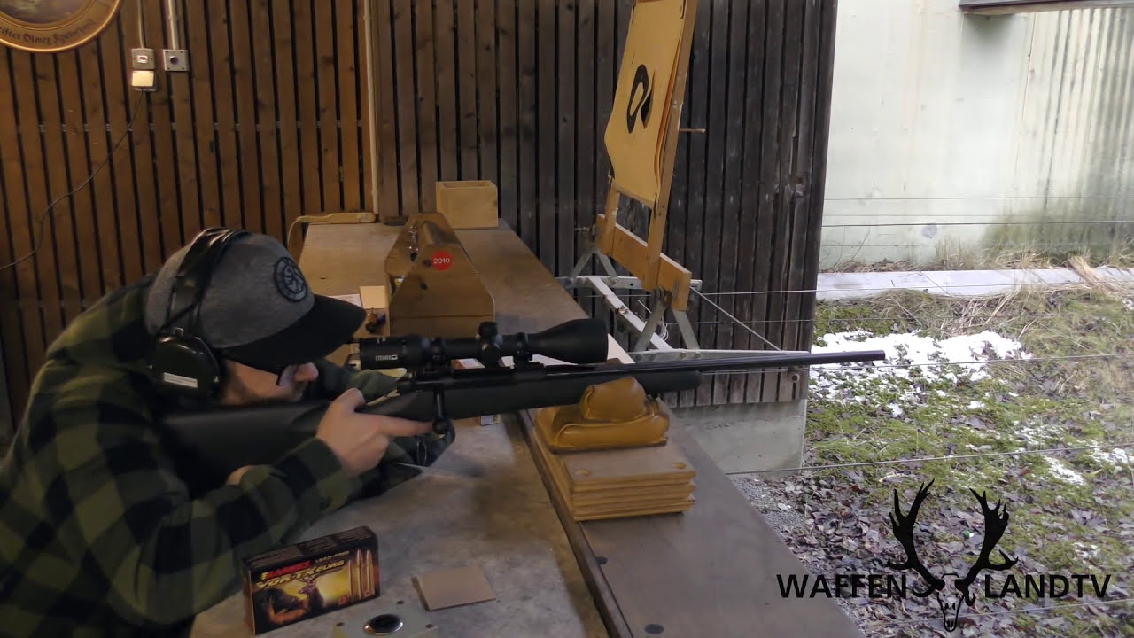 The New Mauser M18  308 Win Accuracy  Waffenlandtv 01:49 HD