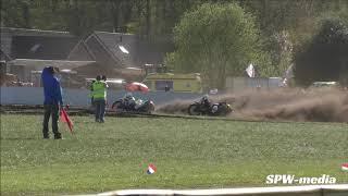 Int.grasbaanraces Balkbrug 2019, finale Int.zijspanklasse