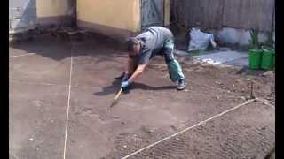 Подготовка территории участка к укладке рулонного газона(, 2013-04-26T05:02:02.000Z)