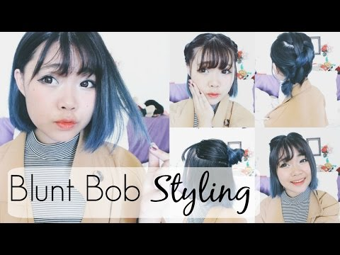 How To Blunt Bob Hairstyles