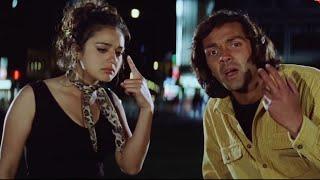 Bobby Deol - Preity Zinta - Drunk Scene - Soldier Movie - Romantic Scene