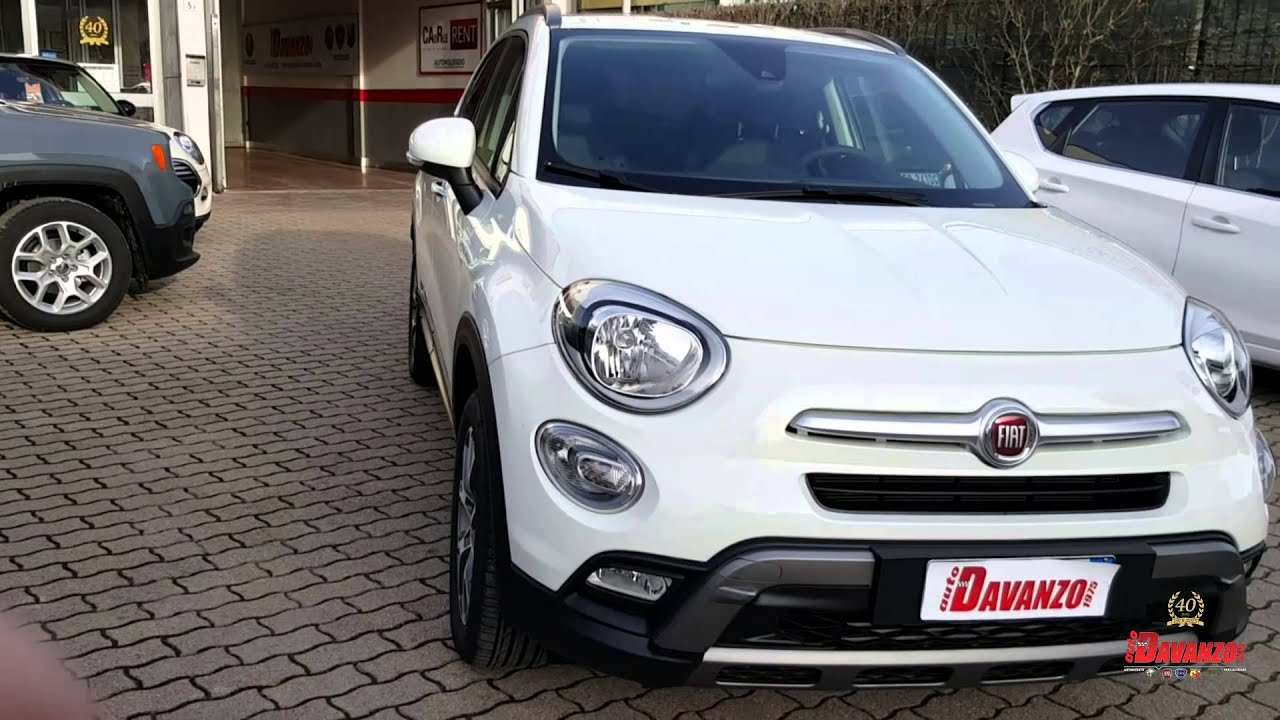 fiat 500x cross off road 2 0 140cv 4x4 bianco gelato. Black Bedroom Furniture Sets. Home Design Ideas