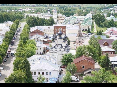 Золотое кольцо России  ч10 Суздаль, центр города