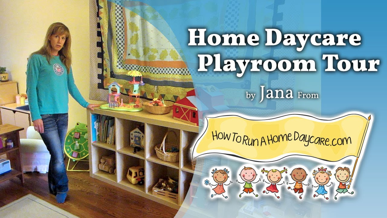 How To Run A Home Daycare Playroom Tour Starting A Home Daycare Youtube