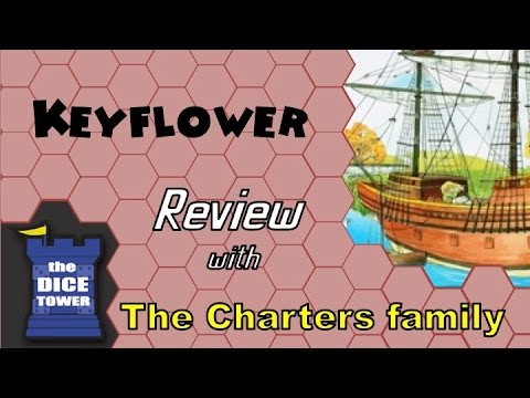 Keyflower Review - with the Charters