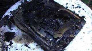 IPad Gets Destroyed!