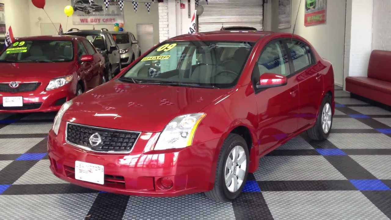 2009 nissan sentra - youtube