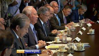 EWTN: Pertemuan Trumph & Najib di White House