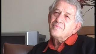 """קטע מראיון של בני עורי עם המשורר, הסופר והמחזאי ישראל אלירז על מחזהו: """"כנפיים"""" סיפורה של חנה סנש"""
