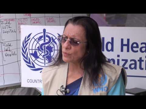Nepal: WHO's response to immediate health needs
