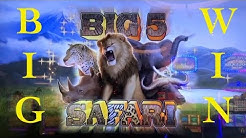 Super Win on BIG 5 SAFARI Slot Machine - Game Compilation @ The Cosmopolitan of Las Vegas Casino