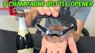 8 Champagne Bottle Opener Gadgets - Part 2
