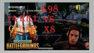 Game Top To Day Grimmmz K98 vs x8 LIU BN C PH PlayerUnknown#39s Battlegrounds Highlights