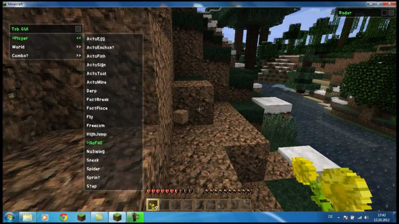 Best Hacked Client For Griefing On Minecraft