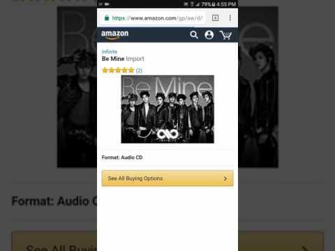Buying K-Pop Albums on Amazon Tutorial