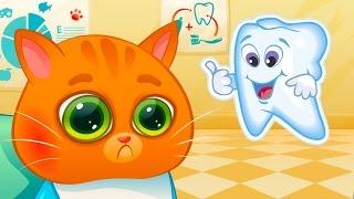 ВИДЕО для ДЕТЕЙ КОТЕНОК БУБУ #61 мистер котик Макс поможет со Свадьбой виртуальному котенку #КИД