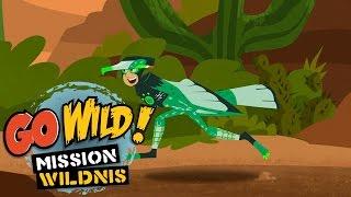 Repeat youtube video Go Wild! Mission Wildnis - Der schnellste Läufer der Wüste - Folge 19