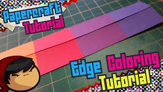 Papercraft Tutorial ~ Edge Coloring ~