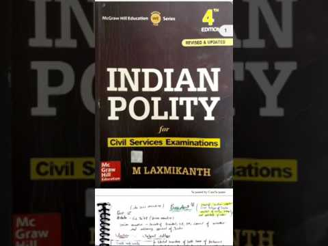 Indian polity, president , Laxmikant summary lecture 1