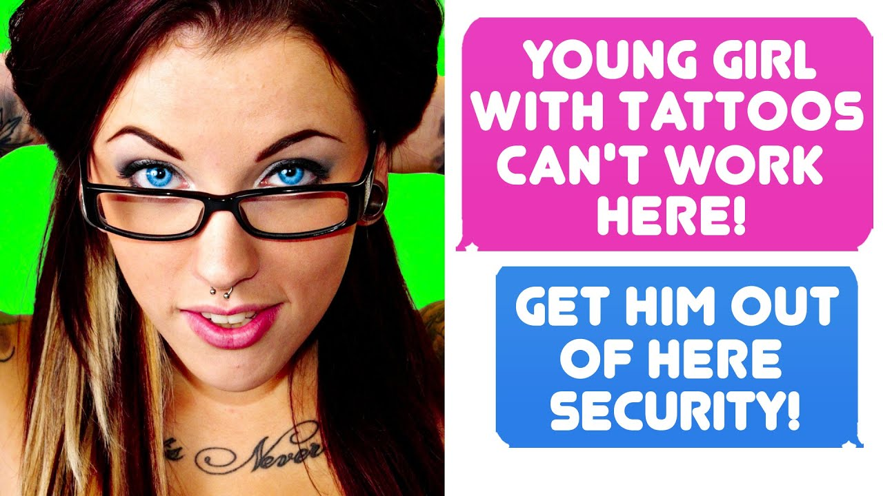 Parent Doesn't Believe I Do Work Here Because I'm Young, Female And Have Tattoos r/IDOWorkHereLady