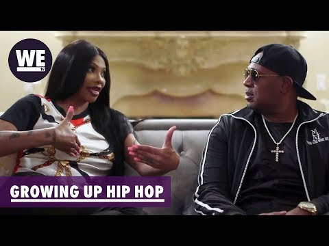 Master P Gives Pepa Parenting Advice  Growing Up Hip Hop  WE tv