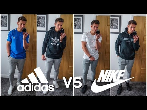 NIKE vs. ADIDAS | Men's Outfit Challenge | Which Brand Is