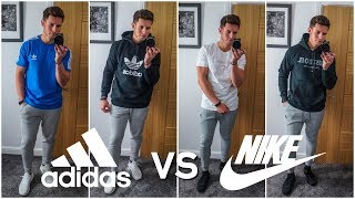 NIKE vs. ADIDAS | Men's Outfit Challenge | Which Brand Is Better?