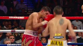 Amir Khan vs  Marcos Rene Maidana  HBO Boxing   Highlights HBO Boxing