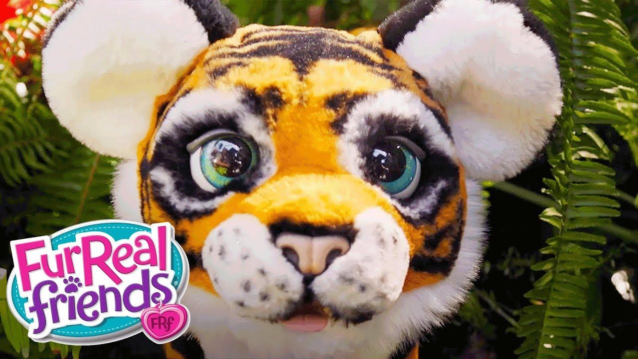 Furreal friends baby snow leopard flurry review robotic dog toys - Furreal Friends Belgi Brullende Tyler De Speelse Tijger